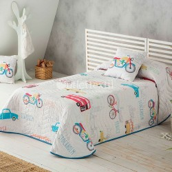 TRAVEL Sandeco bedspread