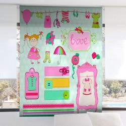 Estor Enrollable Digital TENDEDERO Zebra Textil